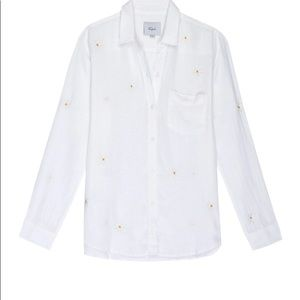 New with Tags Rails Charli Shirt in White Daisy.